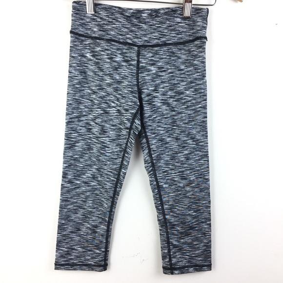 62d3e66b88 90 Degree By Reflex Other - Space Dye Leggings Crop Capris EUC Girl's Medium